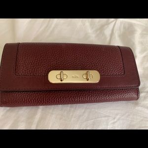 Coach Swagger slimline wallet